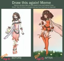 Before and After Meme - Fairy by StrawberrieCandie