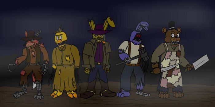 Fnaf - Old West 3 by hykez87