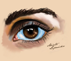 EYE OF WOMAN by fantoNN