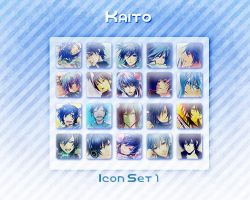 Kaito Icon Set 1 by Xoriu