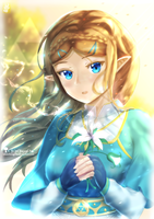 Zelda - Breath of the Wild by chinchongcha