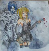 fan art Misa and  Rem by Dream-Catcher-88