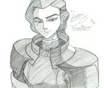 Kuvira Sketch by Snowbacon