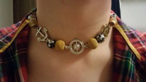 Anchors Away/Necklace by twistedsong25