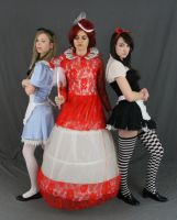 Alice (s) and the red queen by MajesticStock