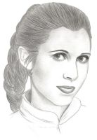 Leia Organa by MadameFirebird