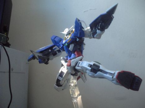 Exia - GN Kick by zerozora