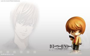 yagami wallpaper by abz89