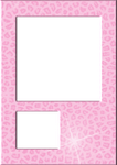 Frame Layout Rosa Leopard Sparkle by StinaRockz