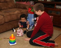 Christmas Morning by olearysfunphotos