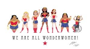 We R All Wonderwomen Sm by CatherineSatrun