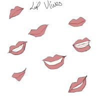 Sketches of lips practice by animal-lover-247
