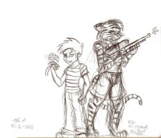 Calvin and Hobbes Commission by Django90