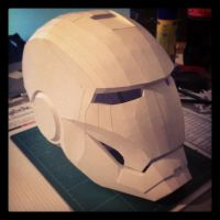 Iron Man Mark III Helmet by JouzuMania