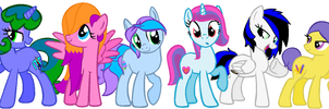 My Official Mane 6 by CutieStyle