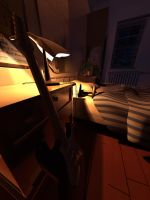 Bedroom Lighting - Night by studentsofcogswell