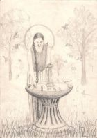Fountain by Marcinbydg