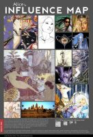 My influence map meme by Alice-Bobbaji