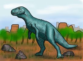 Megalosaurus by HairyDalek
