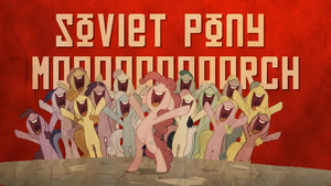Soviet Pony March Pinkie Pie Party by GT4tube
