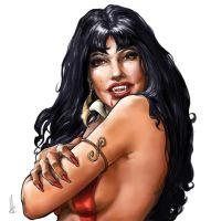 Vampirella sketch by TheBeke
