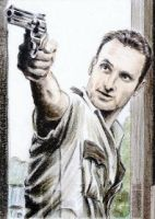 Andrew Lincoln miniature by whu-wei