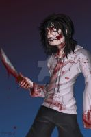 Jeff the Killer by TopHatTruffles