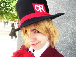 Tamaki - The Mad Hatter by IdiotsInWigs