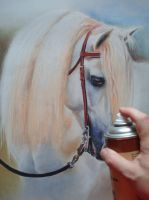 WIP 6 White Horse 2 by PASTELIZATOR