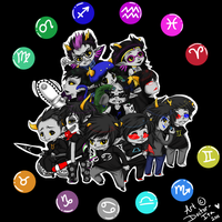 Homestuck Trolls FINAL by Doctor-Ita