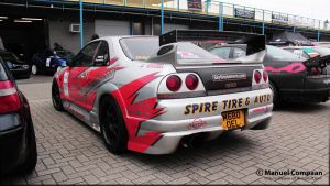 Nissan Skyline R33 GT-R by compaan-art
