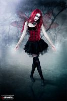 Gothic Fairy by JenHell66