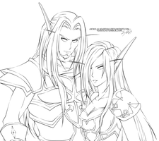 Commission 2 Warcraft by Yureilia