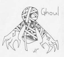 Ghoul Heartless by lockheart9