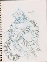 Azaghal -sketch- by chaos61988
