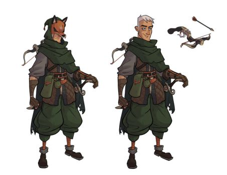 Robin Hood Design by Morpheus306