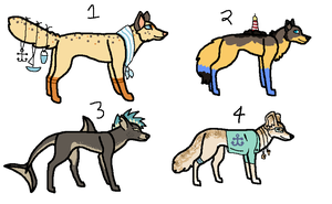 Even More Dog Designs - CLOSED! by PearlEvil