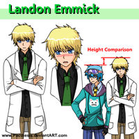Landon character sheet by Pacthesis