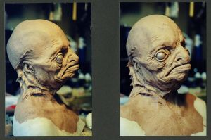 Innsmouth bust. by DaveGrasso