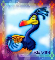 Kevin the bird by kaitlynrager