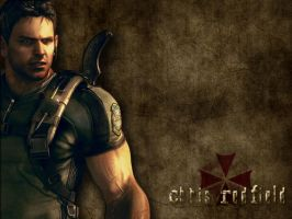 Chris Redfield 1024x768 by NiGHTSfanKevin