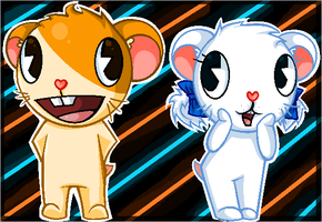 HTF Hamtaro and Bijou by Yum-Yum-Cookie