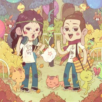 saint young men by Bisparulz