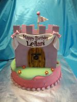 Princess Castle Cake by Keep-It-Sweet
