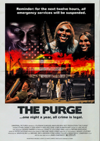 The Purge Movie Poster (1980s Version) by MrAngryDog