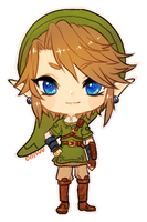 Twilight Princess -- Chibi Link by onisuu