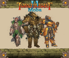 Torchlight 2 Custom Loading screen by Dermik