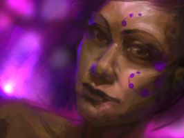 Violet Woman by DM7