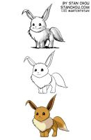 Eevee by ryuzo