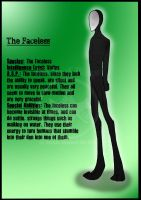 Species Reference 3- Faceless by German-Shepherd-Girl
